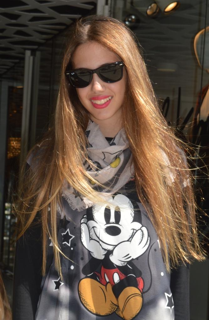 Laia Mickey Mouse Monnalisa Barcelona